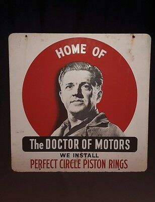 Double Sided Vintage  Perfect Circle Piston Rings The D0Ctor Of Motors Gas Oil