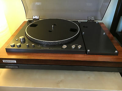 Pioneer Plc-1700 Turntable Very Rare Japan Only Model, Pl570,plc-590