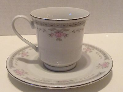"""Fine China Dynasty """"Colleen"""" Cup And Saucer"""