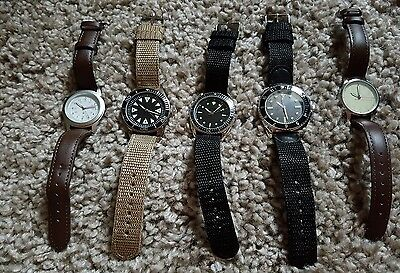 five watches from military watches collection