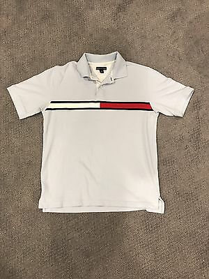 RARE Vintage 90's Tommy Hilfiger Big Flag Spell out Embroidered Raulph Lauren