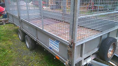 ifor williams trailer 16f beaver tail