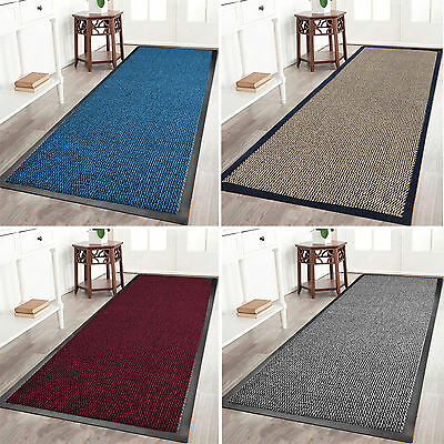 Heavy Duty Rubber Barrier Non Slip Mat Large Small Rugs Back Door Hall Kitchen
