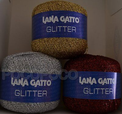 Gomitolo Lana Gatto Art. Glitter Made In Italy