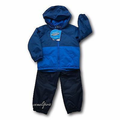Columbia Toddler boys Twisty Cliffs reversible winter jacket & bibs set snowsuit