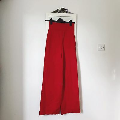 Collectif Mainline Franky Swing Trousers Size Uk 6 £45 Retro Vintage
