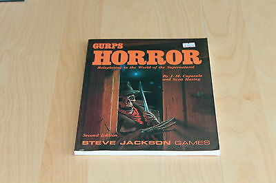 GURPS - Horror - Roleplaying in the World of the Supernatural (gebraucht)