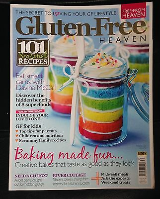 Gluten Free Heaven Magazine Feb / March 2016 Gluten-Free Food Recipes Free-From