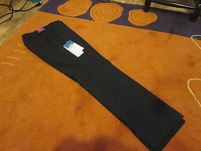 NEW M&S Boys Black School Trousers Age 9-10 Years BNWT Stormwear, supercrease