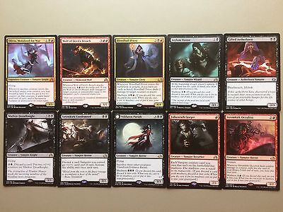 MTG Black Red Olivia, Mobilized for War Commander Deck Vampire Magic COM EDH