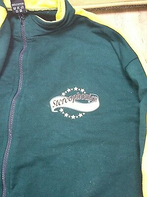 STEREOPHONICS Rare tracksuit top from UK tour 2003 size Large Green **RARE**