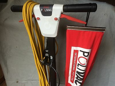 polivac suction floor polisher