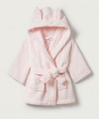 The White Company Baby Girl Dressing Gown Pink Size 0-6 Months