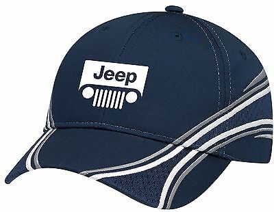 JEEP Embroidered Charger Hat - Black -NEW!!!