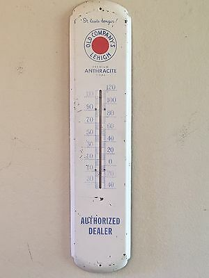 ORG (RARE) Old Company's Lehigh Premium Anthracite Coal Thermometer