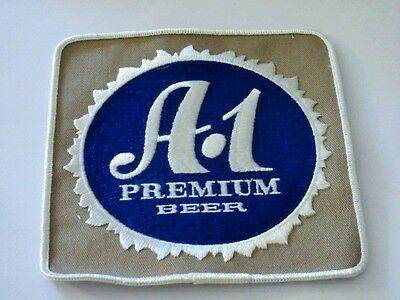 A-1 Premium Beer Advertising Uniform Patch Nos National Brewing Co