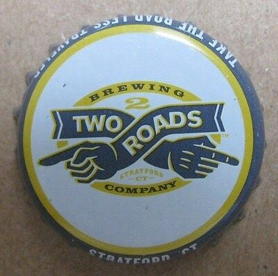 Two Roads Brewing Company Stratford Ct Micro Craft Used Plastic Lined Beer Cap