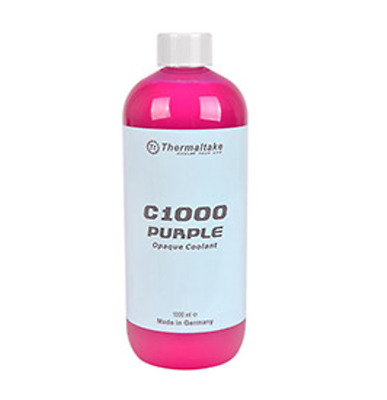 NEW Thermaltake C1000 Opaque Coolant Purple 1L Premix