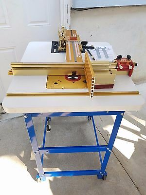 Incra Jig Ultra Premium woodworking Router table W/ 3 1/4 HP Porter Cable Router