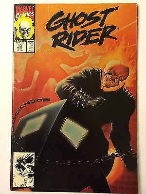 """GHOST RIDER #13 (May 1991, Marvel Comics) """"YOU'LL NEVER SEE WHAT'S COMIC NEXT!"""""""