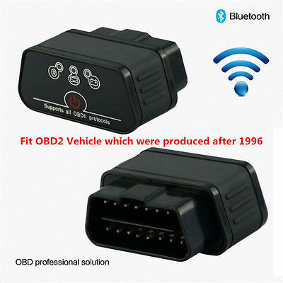 KW903 ELM327 Bluetooth ODB2 OBDII Car Auto Fault Diagnostic Scanner Android HF
