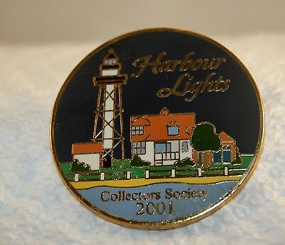 Harbor Lights Collectors Society Pin 2001