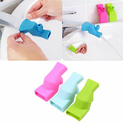 Bath Accessory Bathroom Sink Faucet Extender For Help Children Kid Washing Hands
