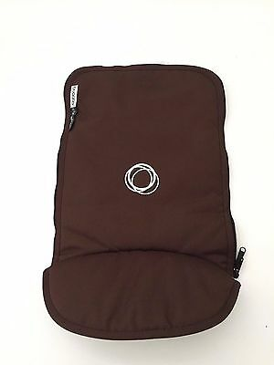 Bugaboo Cameleon Stroller Bassinet Apron Brown Canvas Baby Carrycot Cover