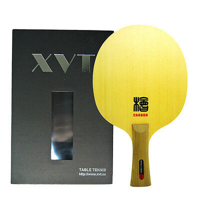 XVT Professional HINOKI CARBON arylate Carbon Table Tennis Blade