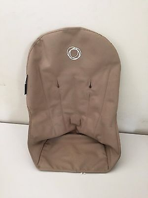 Bugaboo Cameleon Stroller Canvas Fabric Toddler Seat Liner Tan Sand Cover EUC