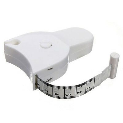 Retractable Flat Tape Measure for Tailor Sewing Cloth Body-Fold Test Instrument