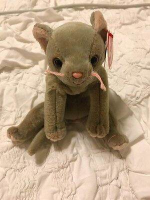 dd8fd6bd104 TY BEANIE BABY - Scat Cat with errors -  500.00