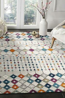 NEW Peggy Tribal Morrocan Style Multi Rug