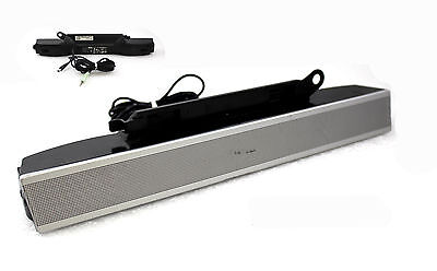Dell AS501 UH837 Multimedia Speaker Sound Bar Stereo for Monitor 1704FP 1707FP