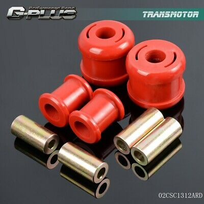RED FOR 06 -11 Honda Civic FG FA Polyurethane Front Lower