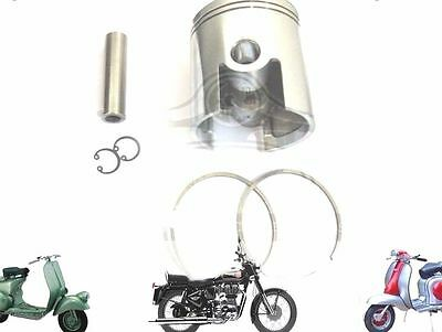LAMBRETTA 185 CC PERFORMANCE PISTON KIT 64.40 mm & THIN 1.50 mm RINGS @AUS