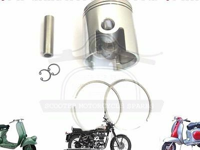 LAMBRETTA 185 CC PERFORMANCE PISTON KIT 65.20 mm & THIN 1.50 mm RINGS @AUS