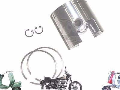 LAMBRETTA PISTON KIT 66.00 mm WITH 2 X 1.5 RINGS GP LI SX TV 200 cc  @AUS