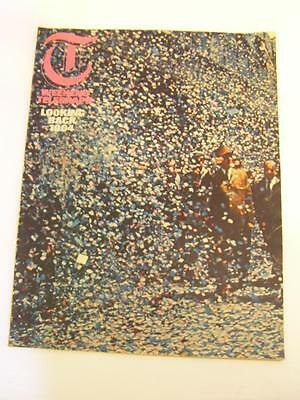 Vintage 1960s Weekend Telegraph Magazine, January 1st 1965, Looking Back at 1964