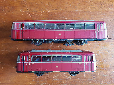 Fleischmann Db Railbus + Trailer Superb Runner Dcc Fitted Unboxed Ho Gauge(Cd)