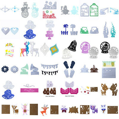 Christmas Metal Cutting Dies Stencil Scrapbook Paper Cards Craft Embossing Decor