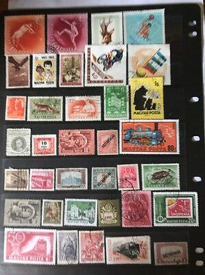 stamps  Hungary  - Used - Lot 243
