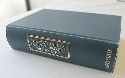 Australian Concise Oxford Dictionary - Hardback