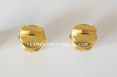 "Carpet Cleaning Wand Replacement Brass 1/8"" V-Jets 95015 Vee Jets (2 count)"