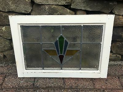 5 Art Deco Matching Stained Glass Windows