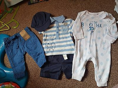 boys 3-6 months bnwt bundle inc disney dumbo and little brother