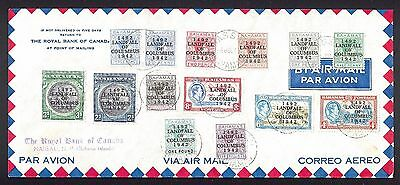BAHAMAS  1943 (6 Jul) Airmail cover to Nassau - 98674