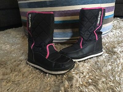 Girls Snow Boots Size 4 US 37 Euro