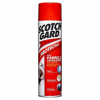 Genuine Scotchgard Protector for Fabric and Upholstery 350g
