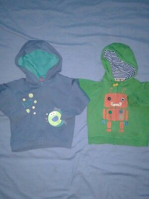 boys 12-18 m&s hoody cardigan bundle